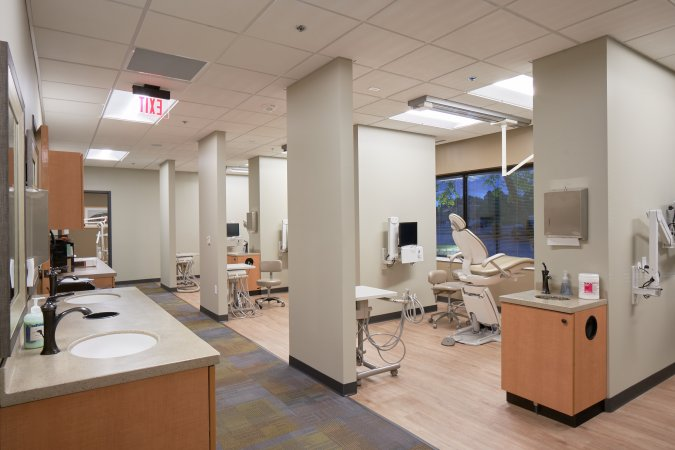interior dental office space
